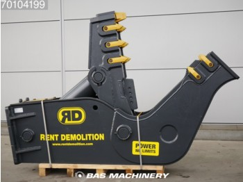 Cisaille de démolition RENT DEMOLITION D23 New pulveriser - suit 30-45 ton excavator - crusher