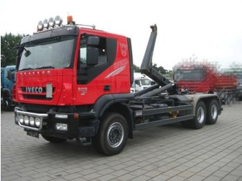 Camion ampliroll Iveco TRACKER AT260T50 6x4 Abrollkipper Meiller