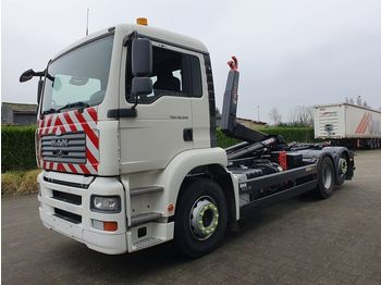 MAN TGA 26.350 6X2 CONTAINER SYSTEEM- CONTAINER SISTEEM- CONTAINER HAAKSYSTEEM- SYSTEME CONTENEUR - camion ampliroll