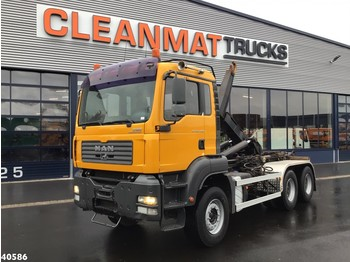 Camion ampliroll MAN TGA 33.400 6x4 Manual Full steel