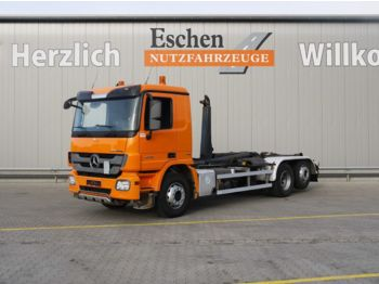 Camion ampliroll Mercedes-Benz 2546 L 6x2, MP3, EEV, Meiller RK 20.67, Retarder: photos 1