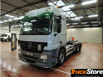 Mercedes-Benz ACTROS 2644 L Abrollkipper mit Haken L-Fhs Euro5  - camion ampliroll
