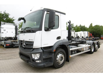 Camion ampliroll Mercedes-Benz ANTOS 2532 HIAB MULTILIFT XR 21 S EURO 6