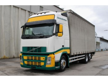 VOLVO FH13.440 Euro5 Manuell 6x2 LBW AHK Standklima - camion bâche