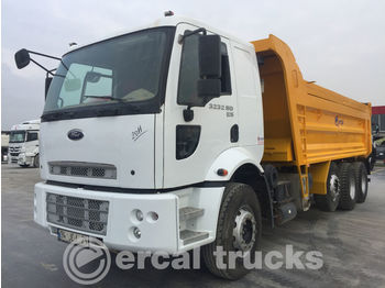 FORD 2011 CARGO 3232SD EURO 5 8x2 HARDOX TIPPER - camion benne