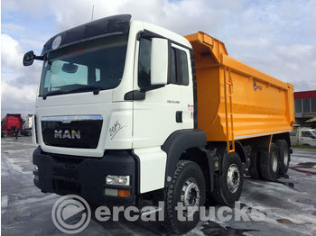MAN 2015 TGS 41.400 MANUEL AC HARDAOX TIPPER - camion benne