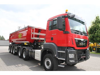 MAN TGS 33.480 - camion benne
