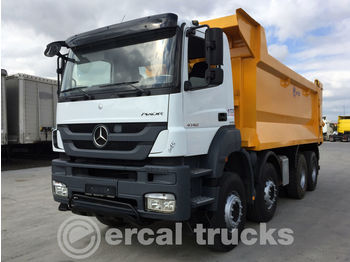 MERCEDES-BENZ 2015 AXOR 4140 AC EURO 5 8X4 SHORT CHASSIS - camion benne