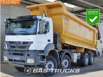 Camion benne Mercedes-Benz Axor 4140 B 8X4 Manual SteelSuspension Big-Axle Euro 5