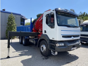 RENAULT KERAX 370DCI E3 (Tipper and Crane) - camion benne