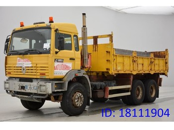 Renault G340 - 6x4 - camion benne