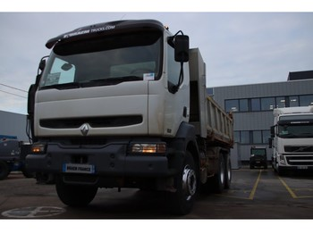 Camion benne Renault KERAX 370 DCI
