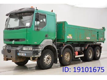 Camion benne Renault Kerax 370 DCi - 8x4