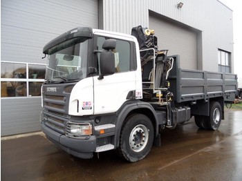 Scania P310 4x2 Crane Hiab 111BS-2 CLX NEW/UNUSED - camion benne