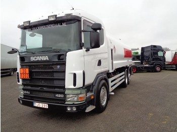 Scania 124G 420 + Manual + 5 comp + pump + 18000 L + PTO - camion citerne