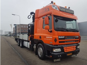 DAF 85 CF 410 Manual Fassi 33 tm - camion fourgon
