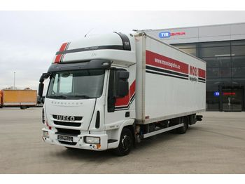 Camion fourgon Iveco EUROCARGO 75E18,SLEEPING BODY, HYDRAULIC LIFT