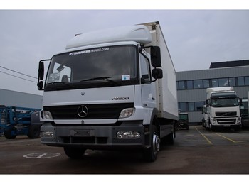 Camion fourgon Mercedes-Benz ATEGO 1218+Box 6.2m +D'Hollandia 1500kg