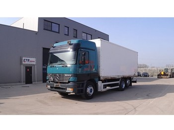 Mercedes-Benz Actros 2540 (FRONT STEEL SUSPENSION / DEVANT SUSPENSION LAMES / 6X2 / GRAND PONT / BIG AXLE) - camion fourgon