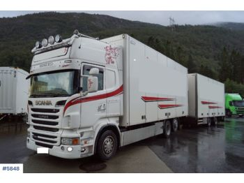 Scania R480 - camion fourgon