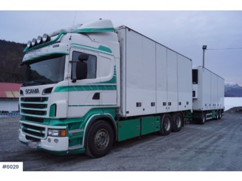 Scania R620 - camion fourgon