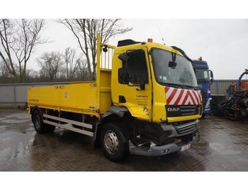 DAF LF55-250 / AUTOMATIC / LOW KILOMETERS / 2011  - camion plateau ridelle