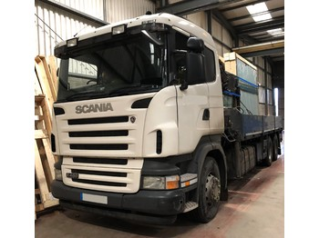 SCANIA R480 6X2 - camion plateau ridelle