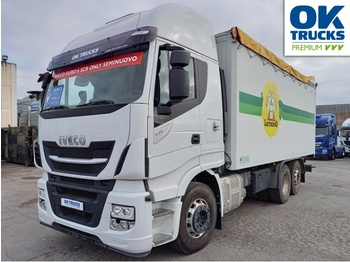 IVECO Stralis AS260S51Y/PS Euro6 Intarder Klima AHK ZV - camion porte-conteneur/ caisse mobile