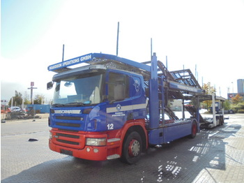 Scania P380 - camion porte-voitures