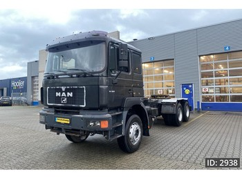 MAN 26.414 Day Cab, Euro 1, Full steel - 6x4 - châssis cabine