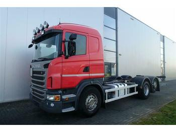 Châssis cabine Scania G480 6X2 CHASSIS RETARDER STEERING AXLE EURO 5