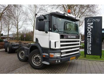 Scania P 114G 340 8x2*6 Fahrgestell  - châssis cabine