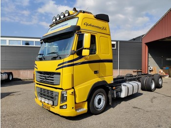 Châssis cabine Volvo FH16 600 6X2 Euro 5 - Lift as - Stand Airco - 8.15M chassis - Dubbele Alu Tanks - TOP! - 4/2020 APK