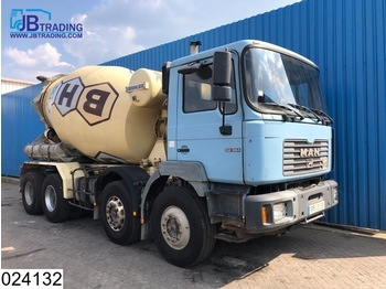 Camion MAN 32 364 8x4, EURO 2, Liebherr, Manual, Steel suspension, Hub reduction