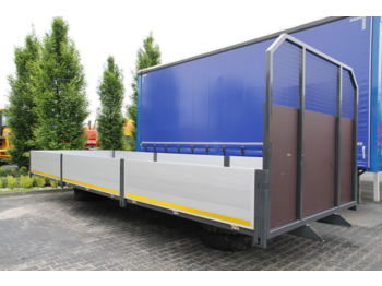 BOX SAXAS 18 PALLETS flatbed body - carrosserie plateau