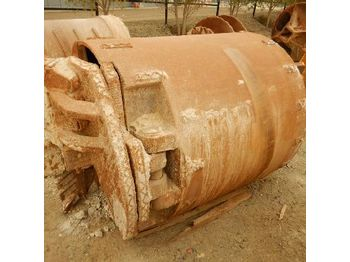1200mm Drilling Bucket DC FZ80 to suit Kelly Bar - aléseuse directionnelle