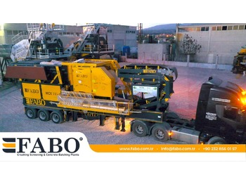FABO MJK-110 SERIES 200-300 TPH MOBILE JAW CRUSHER PLANT - concasseur mobile