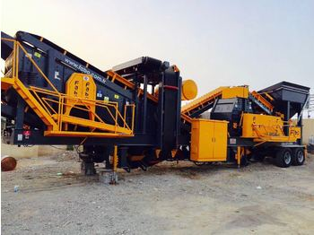 FABO MTK-100 MOBILE CRUSHING & SCREENING PLANT – SAND MACHINE - concasseur mobile