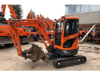 Doosan DX27Z  - mini pelle