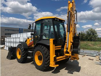 JCB 4CX Eco Sitemaster - tractopelle