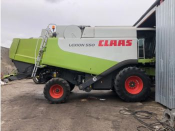 CLAAS Lexion 550 Heder Vario - moissonneuse-batteuse