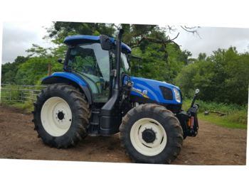 New Holland T6.140 ELECTRO COMMAND - tracteur agricole