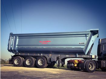 ALAMEN HARDOX ROCK TIPPER - STEEL TIPPER MODELS - TIPPER WITH/WITHOUT S - semi-remorque benne