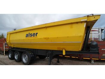 EMIRSAN USED 2011 TIPPER TRAILER SUITABLE FOR REFURBISHMENT - semi-remorque benne