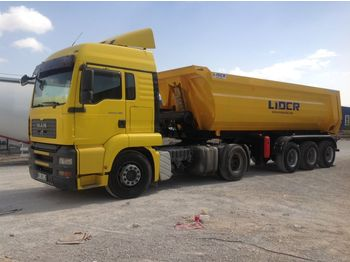 LIDER 2020 NEW DIRECTLY FROM MANUFACTURER COMPANY AVAILABLE IN STOCK - semi-remorque benne