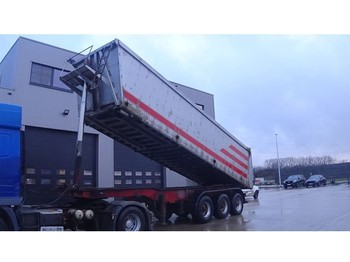 Semi-remorque benne LUCK BPW-AXLES / DRUM BRAKES / FREINES TAMBOUR / CHASSIS from STEEL / TIPPER from ALU)