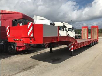 New /ARB Low Loader for heavy machinery/ - semi-remorque châssis