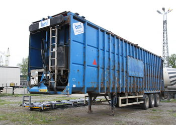 Semi-remorque fond mouvant BMI EJ110 EJECTOR TRAILER FOR SCRAP