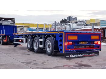Semi-remorque plateau Vega Trailer 3 Axle PlatformExtendable Semi-Trailer New