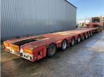 Nooteboom MC0-121-08V - 8 AXLES - BED 13,31 + 9,06 METER  - semi-remorque surbaissé